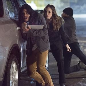Jesse L. Martin, Danielle Panabaker, Carlos Valdes
