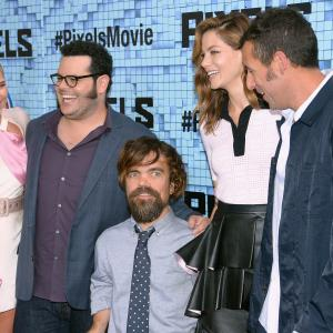 Adam Sandler, Peter Dinklage, Michelle Monaghan, Josh Gad, Ashley Benson