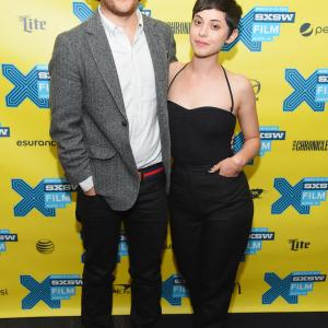 Adam Pally and Rosa Salazar at event of Night Owls (2015)