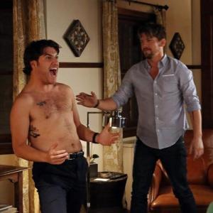Zachary Knighton and Adam Pally in Happy Endings (2011)