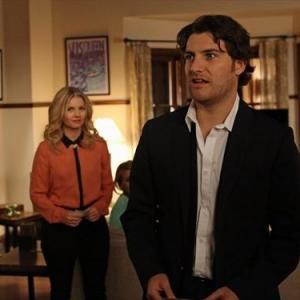 Elisha Cuthbert, Zachary Knighton and Adam Pally in Happy Endings (2011)