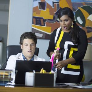 Adam Pally, Mindy Kaling