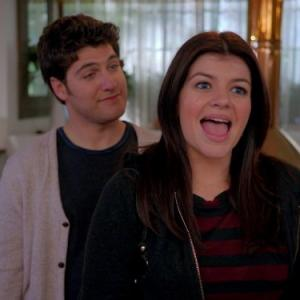 Still of Adam Pally and Casey Wilson in Happy Endings (2011)