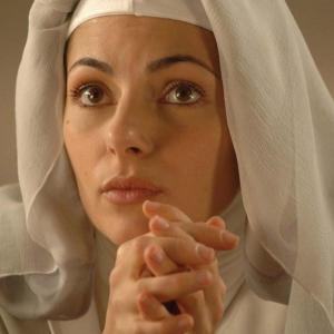 Silvia Colloca as Sister Lisabetta in VIRGIN TERRITORY (2007)