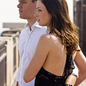 Still of Matt Damon and Emily Blunt in Likimo ekspertai 2011