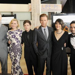 Enrique Alvarez, Naomi Watts, Tom Holland, Ewan McGregor, Maria Belon and Juan Antonio Bayona