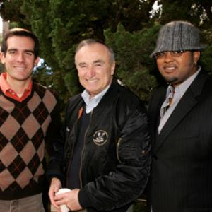 William J. Bratton, Eric Garcetti, Jamie Jones