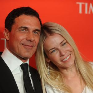 Chelsea Handler and André Balazs