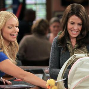 Still of Laura Prepon and Chelsea Handler in Are You There, Chelsea? (2012)
