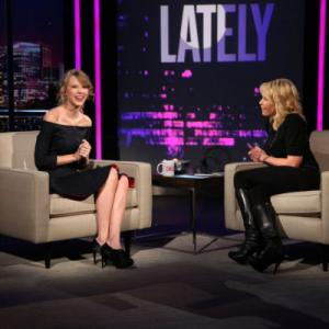 Still of Chelsea Handler and Taylor Swift in Chelsea Lately (2007)