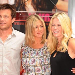 Jennifer Aniston, Jason Bateman and Chelsea Handler