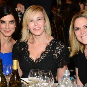 Sandra Bullock, Mary McCormack and Chelsea Handler