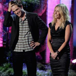 Chelsea Handler and Robert Pattinson at event of 2011 MTV Movie Awards (2011)