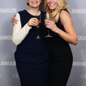 Chelsea Handler and Lena Dunham