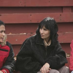 The Latinas Celins Toribio as Miosotis Yareli Arizmendi as Mara and Lymari Nadal as America