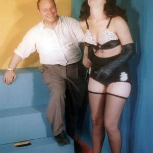 Irving Klaw and Bettie Page
