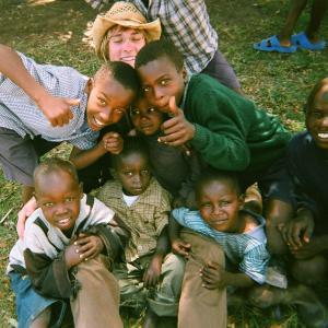 Jamie in Kenya for Free The Children