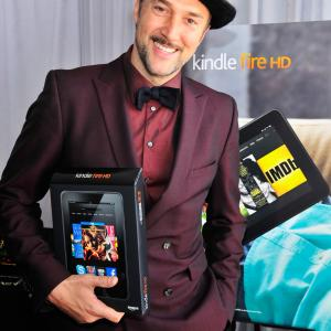 Carlos Leal poses in the Kindle Fire HD and IMDb Green Room during the 2013 Film Independent Spirit Awards at Santa Monica Beach on February 23, 2013 in Santa Monica, California.