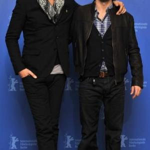 Carlos Leal and Eduardo Noriega at For The Good Of The Others photocall, 60th Berlin International Film Festival