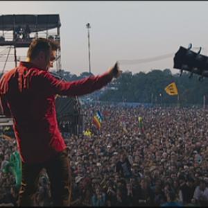 Still of Morrissey in Glastonbury 2006