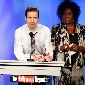 Loretta Devine and Cole Barager