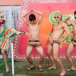 The Lady Bunny, Will Wikle, Brandon Lim, Isaac Webster