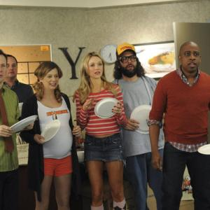 Judah Friedlander, Keith Powell, Katrina Bowden, Sue Galloway