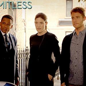 Still of Hill Harper, Jennifer Carpenter and Jake McDorman in Limitless (2015)