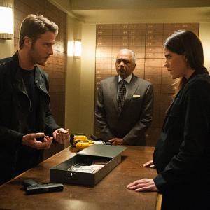 Jennifer Carpenter and Jake McDorman in Limitless (2015)
