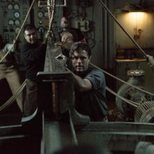 Still of Casey Affleck and Chris Pine in The Finest Hours (2016)