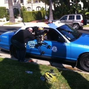 Shooting in Beverly Hills