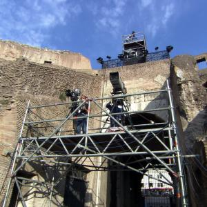 HD shooting in the Colosseum