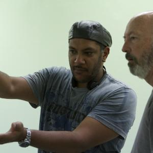 Production still - Directing Love of my Life with Cinematography by Steve Arnold ACS