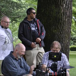 Directing Still with Liam Barret ( writer ) and Steve Arnold ACS ( cinematography )