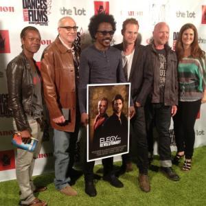 Tomas Boykin, Martin Copping Elegy for a Revolutionary (Red Carpet) http://elegy-movie.com http://tomasboykin.com