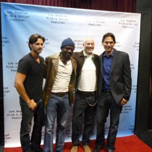 Tomas Boykin, Brian Ames Elegy for a Revolutionary (Red Carpet) http://elegy-movie.com http://tomasboykin.com