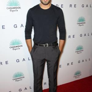 Beejan Land attends the Brian Bowen Smith WILDLIFE show at De Re Gallery in West Hollywood, California.