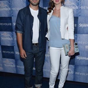 Beejan Land and Natasha Bassett attend 2014 People StyleWatch Annual Denim Awards