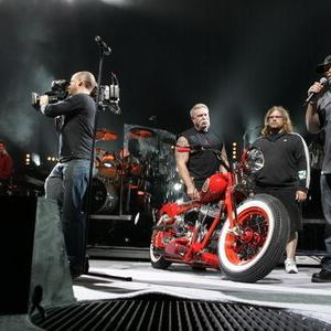 Billy Joel, John Rotan, Paul Teutul Jr., Paul Teutul Sr., Michael Teutul