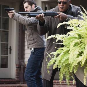 Aaron Abrams and Laurence Fishburne Hannibal Episode: