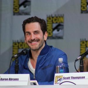 Aaron Abrams and Scott Thompson at the SDCC Hannibal Panel