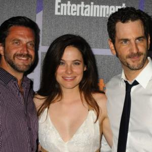 Raul Esparza, Caroline Dhavernas and Aaron Abrams at the EW '14 Comic Con Party