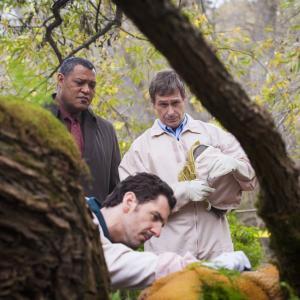Still of Laurence Fishburne, Scott Thompson and Aaron Abrams in Hanibalas (2013)