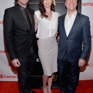 Richard Armitage, Steven Quale and Sarah Wayne Callies