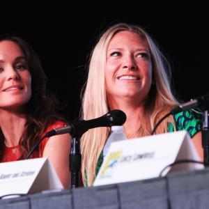 Sarah Wayne Callies and Anna Torv