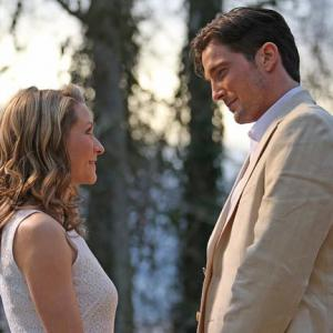 Still of Ali Hillis and Logan Bartholomew in The Ultimate Life (2013)