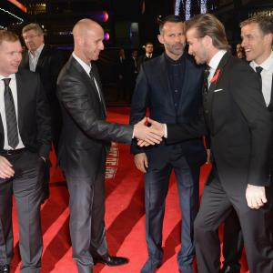 David Beckham, Ryan Giggs, Phil Neville, Nicky Butt, Paul Scholes