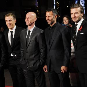 David Beckham, Ryan Giggs, Gary Neville, Phil Neville, Nicky Butt, Paul Scholes