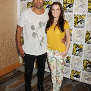 Comic-Con 2015. The Shannara Chronicles. With Manu Bennett
