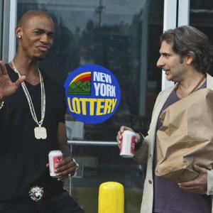Still of Michael Imperioli and Mehcad Brooks in Necessary Roughness (2011)